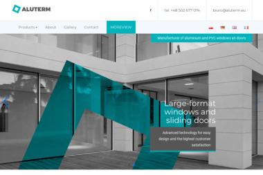 ALUTERM - Okna aluminiowe Zielona Góra