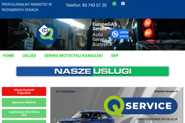 EuropeGAS Serwis - Serwis LPG Białystok