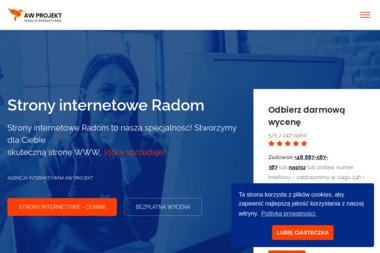 Strony Internetowe Radom AW PROJEKT - Marketing Online Radom