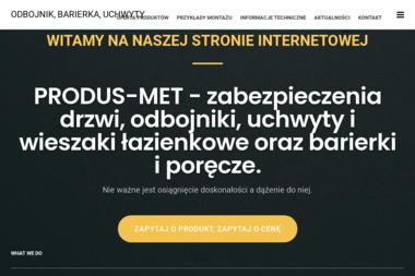 Firma PRODUS-MET - Balustrady ze Stali Nierdzewnej Zewnętrzne Sieradz