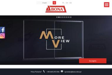 Zakład Produkcyjny BONA - Sprzedaż Okien Aluminiowych Grudziądz