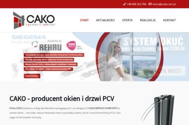 CAKO - Okna Energooszczędne Pinczyn