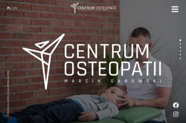 Centrum Osteopatii - Osteopata Warszawa