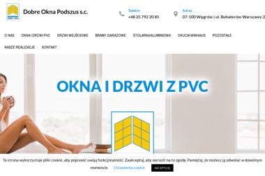Dobre Okna Podszus - Okna aluminiowe Węgrów