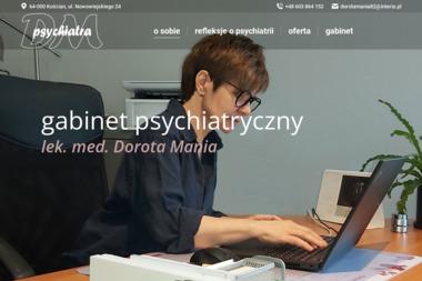 Dorota Mania Gabinet Psychiatryczny - Psycholog Kościan