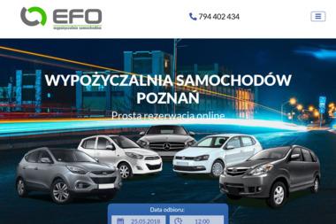 Wypożyczania samochodów Poznań - EFO-CARS - Wypożyczalnia Samochodów Poznań
