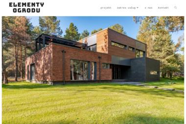 ELEMENTY OGRODU - Wykonywanie Ogrodzeń Bieńkówka