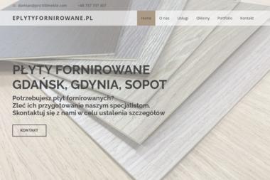 Płyty fornirowane - Fornirowanie Gdańsk - Sklepy Online Gdańsk