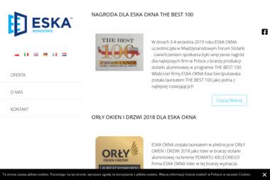 Eska Okna - Okna aluminiowe Morawica