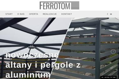 Ferrotom - Balustrady nierdzewne Blachownia
