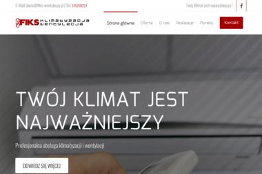 FIKS Wentylacja Klimatyzacja - Wentylacja Białystok