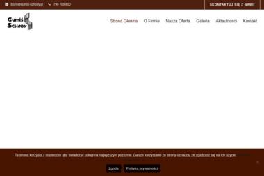 Gumiś-schody - Schody Trzebiatów
