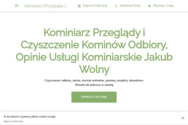 Usługi Kominiarskie Jakub Wolny - Przegląd Kominiarski Lubań