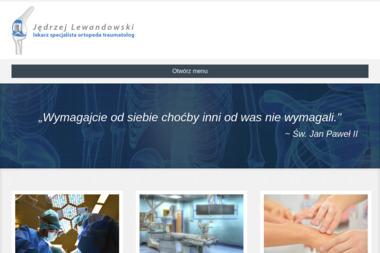 Jędrzej Lewandowski - ortopeda - Ortopeda Poznań