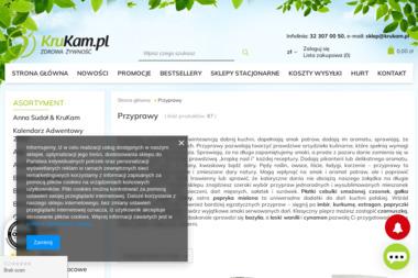 Krukam.pl - Zdrowa Żywność - Strona Internetowa Wodzisław Śląski