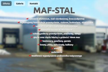 MAF-STAL - Balustrady nierdzewne Kliniska Wielkie