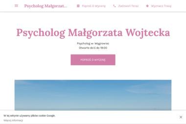 Psycholog Małgorzata Wojtecka - Psycholog Wągrowiec