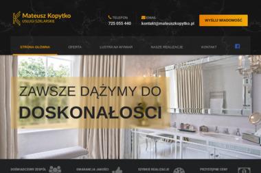 Usługi Szklarskie Mateusz Kopytko - Szklarz Korytów