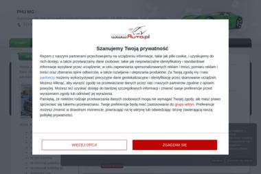 """PHU """"MG"""" Jakub Lipski - Samochody osobowe używane Chojnice"""