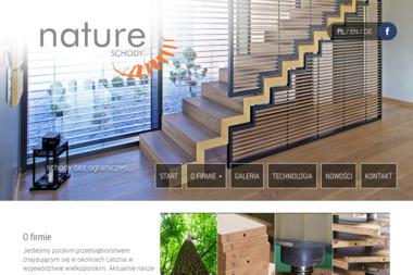Nature - Schody drewniane Lipno