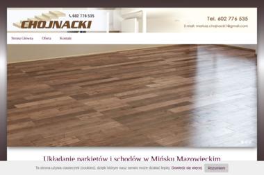 arkiety, schody drewniane Mariusz Chojnacki - Schody Dębowe Mińsk Mazowiecki