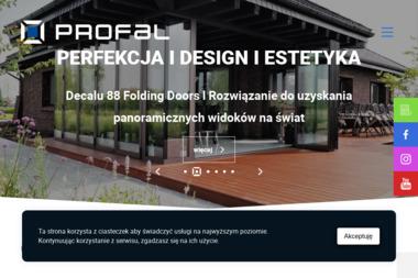 Profal Aluminium - Okna Dobrzyca