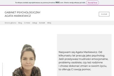Gabinet psychologiczny Agata Markiewicz - Psycholog Leśna