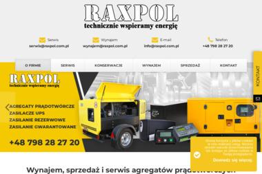 RAXPOL SP Z O O - Sprzęt Budowlany Warszawa