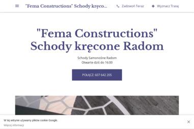 Fema Constructions - Schody Wewnętrzne Radom