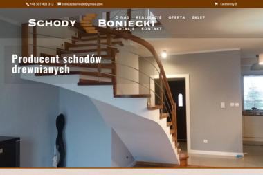 Zakład Stolarski Tomasz Boniecki - Schody drewniane Kikół