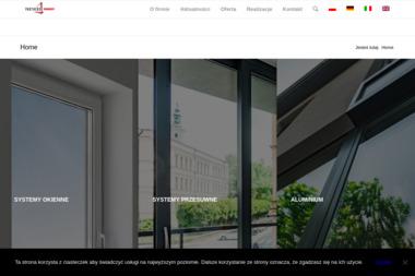 SERRAMENTI - Sprzedaż Okien Aluminiowych Cieszyn
