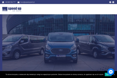 Speed Up - Wypożyczalnia samochodów Ruda Śląska
