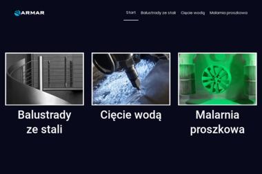 Cięcie Wodą - STEFANIK - Balustrady Nierdzewne Miejsce Piastowe