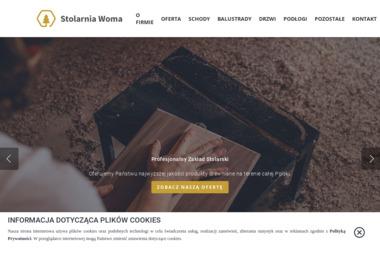 Stolarnia Woma - Balustrady Wewnętrzne Koniusza