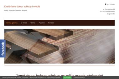 Usługi stolarskie Sylwester Skibiński - Schody Stare Bosewo