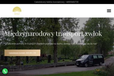 Międzynarodowy transport zmarłych - Firma transportowa Ostróda