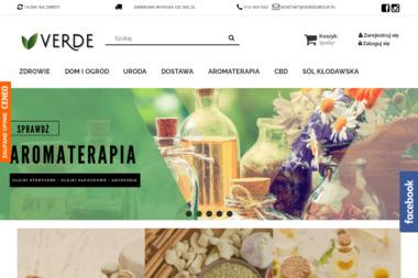 Verdesklep.pl - sklep internetowy z artykułami ekologicznymi - Zdrowa żywność Koło