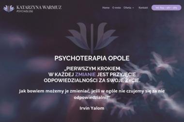 Psycholog Katarzyna Warmuz - Psycholog Opole
