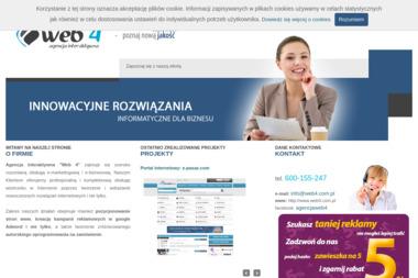 """Agencja interaktywna """"WEB 4"""" - Sklepy Online Kielce"""