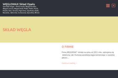 WĘGLOMAX - Skład Węgla Brunatnego Teresin