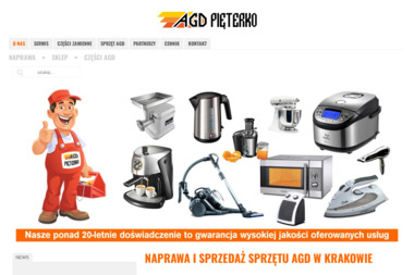 AGD Serwis Pięterko - Naprawa drobnego sprzętu AGD Kraków