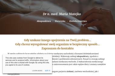 Akupunktura - Dr n. med. Maria Matejko - Akupunktura Kielce