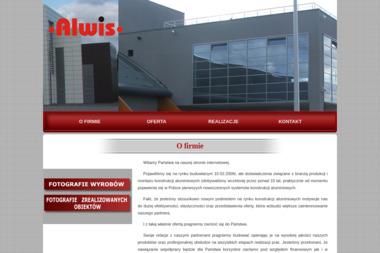 ALWIS - Konstrukcje Aluminiowe - Okna Kępno