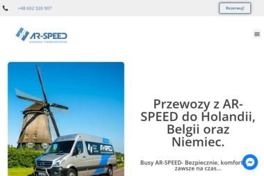 AR-SPEED Busy do Holandii, Belgii, Niemiec - Firma transportowa Werbkowice