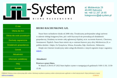 AJL-System - Usługi podatkowe Katowice