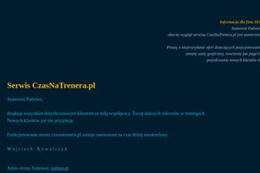 Trener personalny Wojciech Kowalczyk - Trener Personalny Legionowo