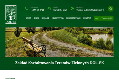 Zakład Kształtowania Terenów Zielonych DOL-EK - Altanki Drewniane Tarnów