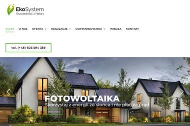 Eko-System Bartosz Pryl - Fotowoltaika, Pompy ciepła - Fotowoltaika Stargard