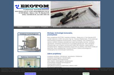 EKOTOM - Projektowanie instalacji sanitarnych Bielsko-Biała