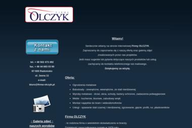 Firma OLCZYK - Balustrady ze Stali Nierdzewnej Zewnętrzne Radomsko